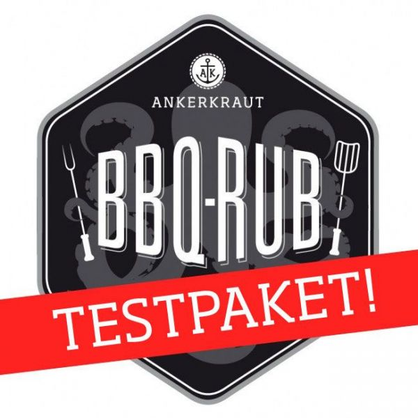 Ankerkraut BBQ Rub Mega Testpaket, Set mit 18 Rubs