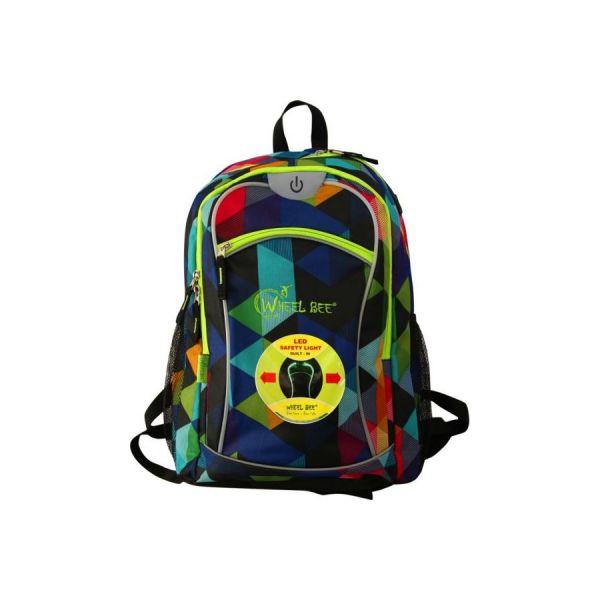 Wheel Bee Backpack Rucksack mulitcolor