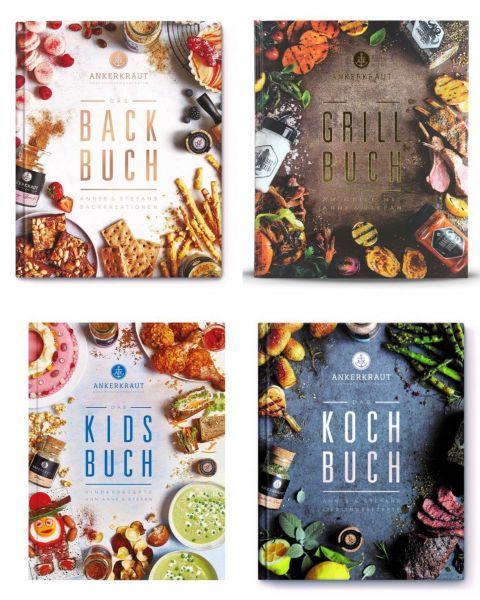 Ankerkraut - Kochbücher Set