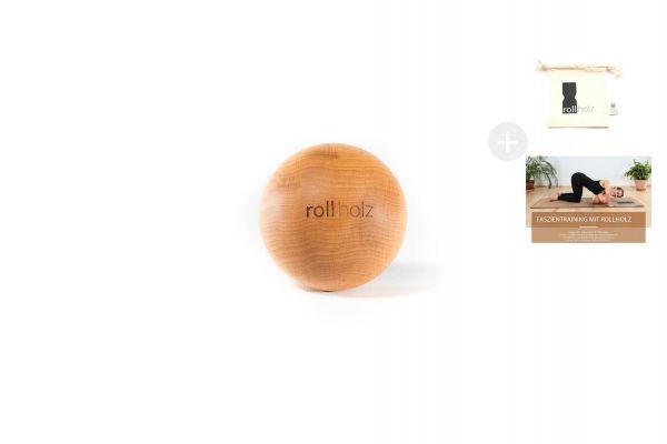 rollholz Kugel Erle 7cm
