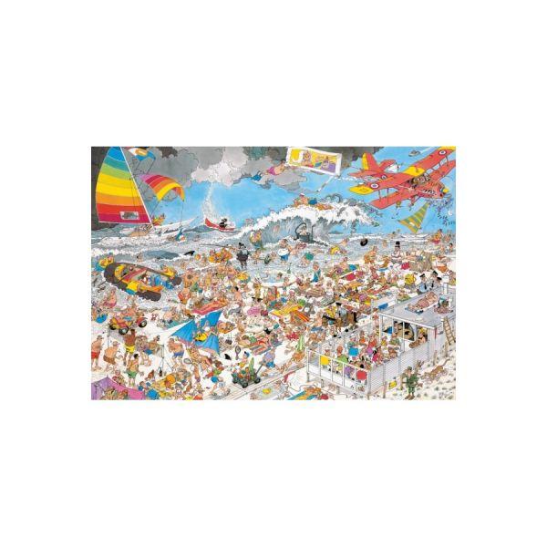 Puzzle 1000 Jan van Haasteren Am Strand