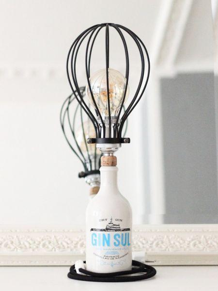 JK Gin Sul - Metallschirm Lampe