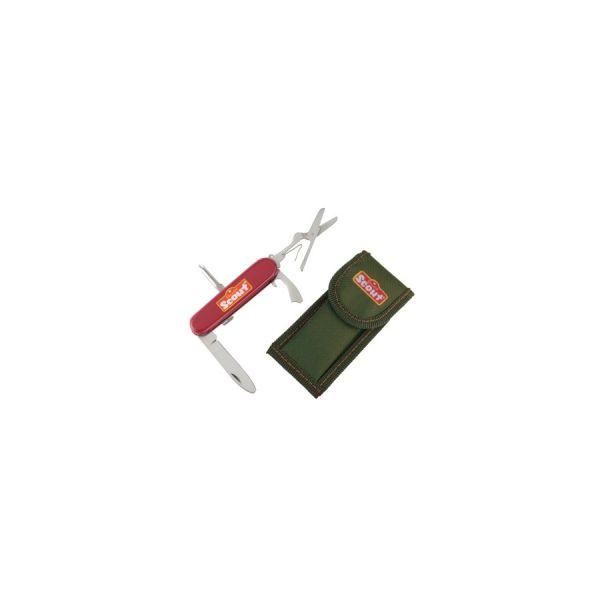 SCOUT Kindertaschenmesser mit Nylon Gürteltasche