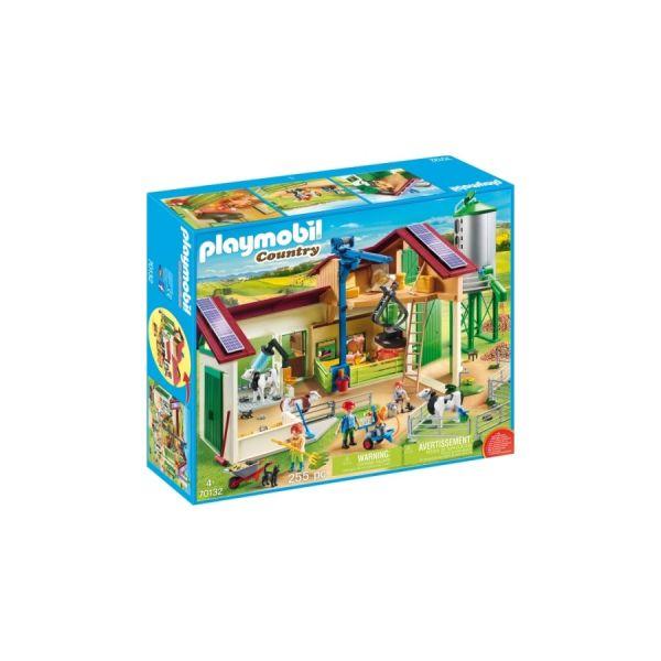 PLAYMOBIL® Grosser Bauernhof mit Silo