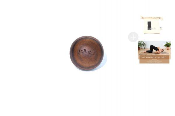 rollholz Kugel Walnuss 4cm
