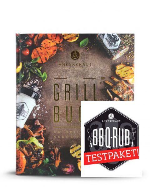 Ankerkraut BBQ Testpaket & Grillbuch