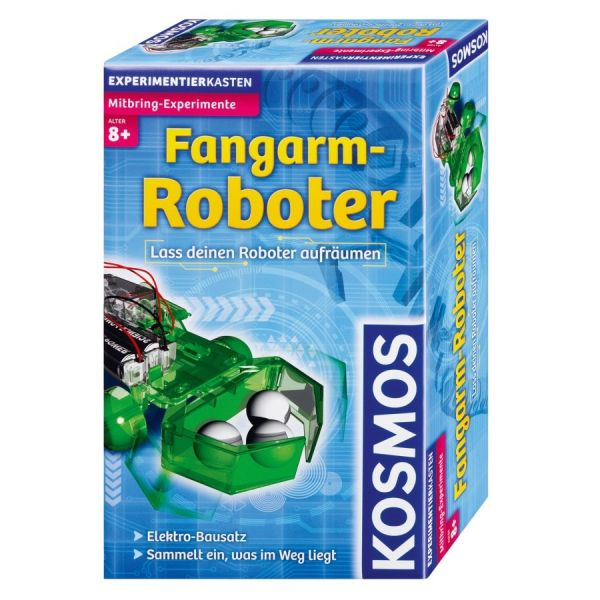 Mitbringexperiment Fangarm-Roboter