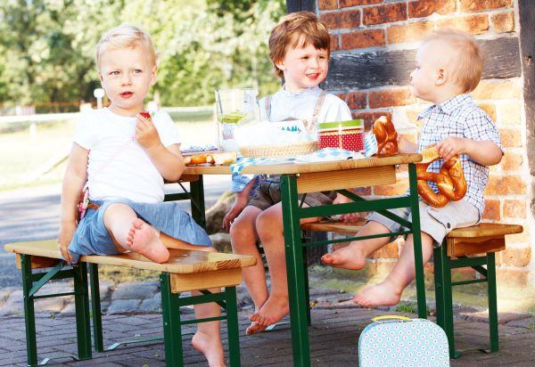 Kinderfestzeltgarnitur 'Sepp', 3-tlg.