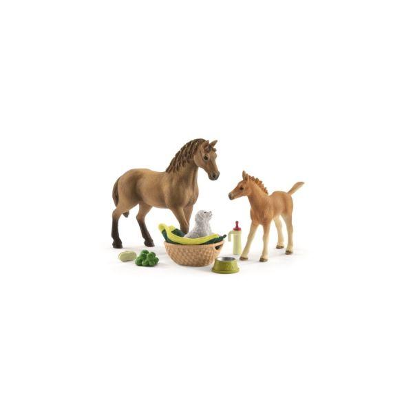 Set Sarahs Tierbaby-Pflege & Pferde