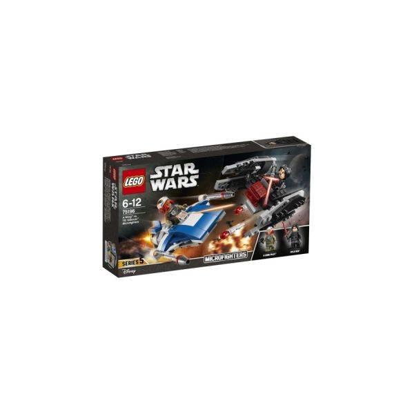 Star Wars Microfighters A-Wing vs. TIE Silencer
