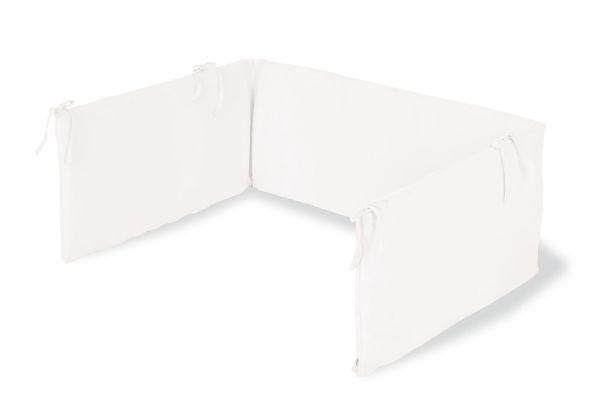Nestchen für Kinderbetten, Jersey, weiß