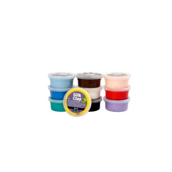 Gummischleim 10er Basic-Set 1, Grundfarben