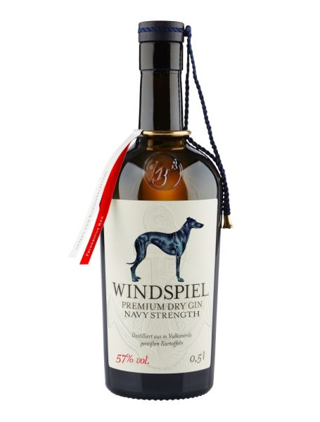 Windspiel Navy Strength Gin 57% vol. 0,5 Liter