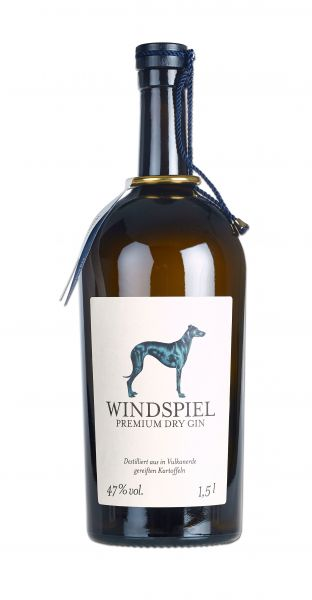 Windspiel Premium Dry Gin 47% vol. 1,5 Liter Magnum