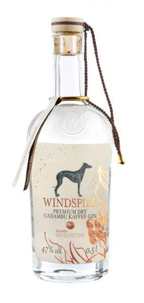 Windspiel Premium Dry Caxambu Kaffee Gin 47% 0,5l