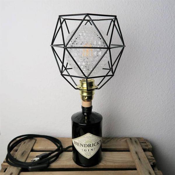 Flaschenlampe Hendricks