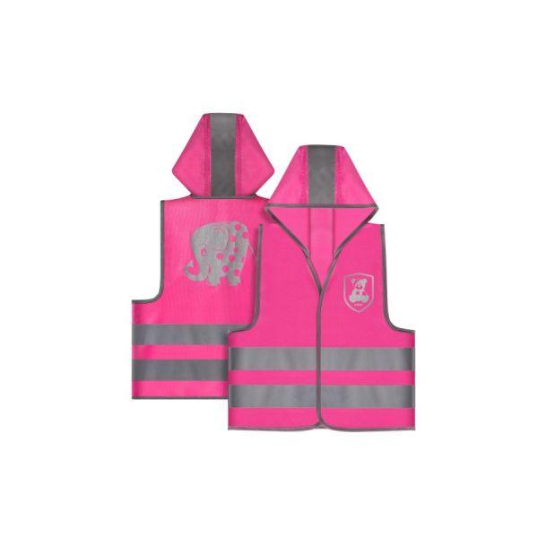 My Buddy Guard Sicherheitsweste, Elefant pink