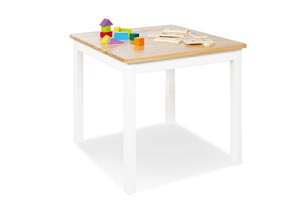 Kindertisch 'Fenna', weiß/natur