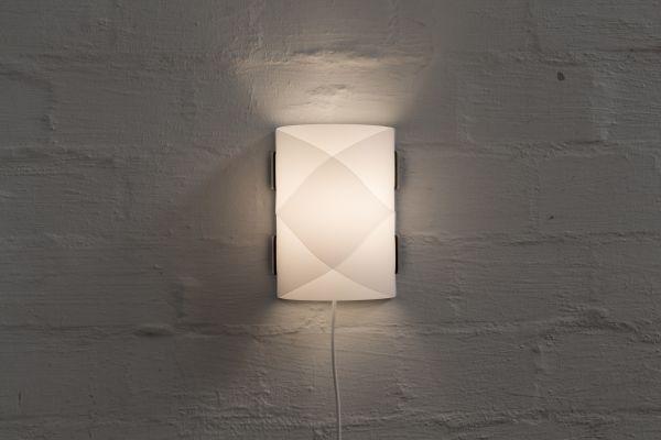 Wandlampe rund, klein