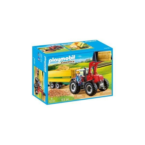 PLAYMOBIL® Riesentraktor mit Anhänger