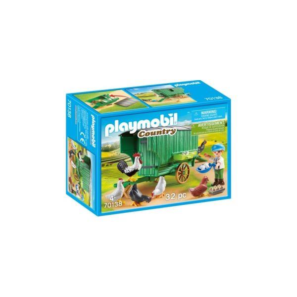 PLAYMOBIL® Mobiles Hühnerhaus