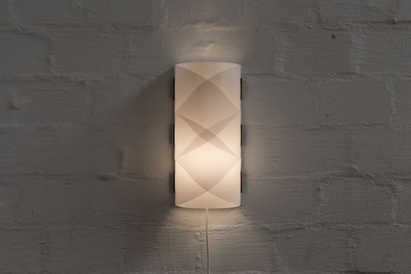 Wandlampe rund, groß