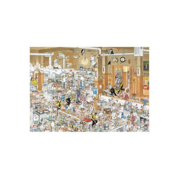 Puzzle 1000 Jan van Heesteren die Küche
