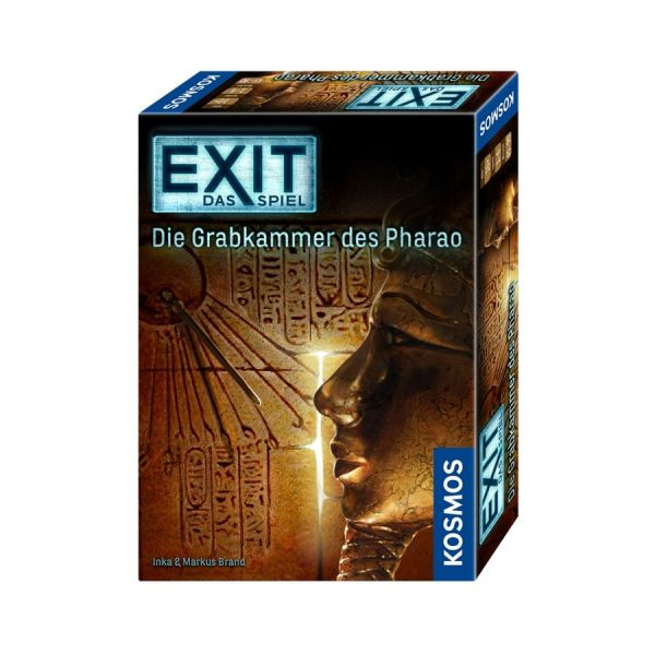 EXIT - Das Spiel / Die Grabkammer des Pharao nominiert Kennespiel des Jahres 2017