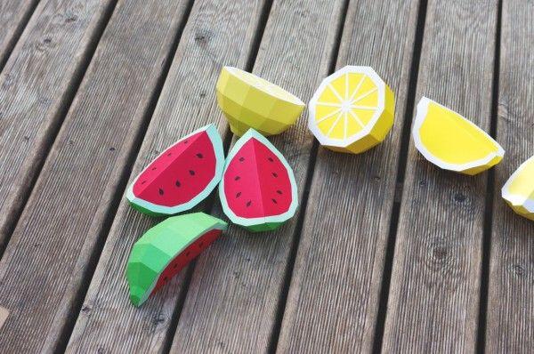 Zitronen o. Melonen