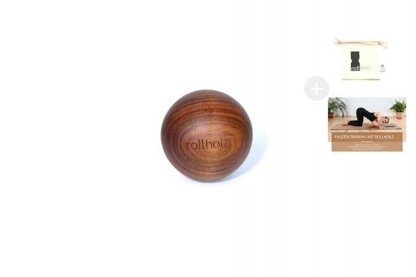rollholz Kugel Walnuss 7cm