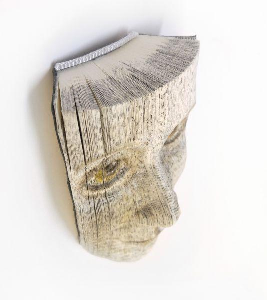 Wandobjekt BOOKFACE Midi