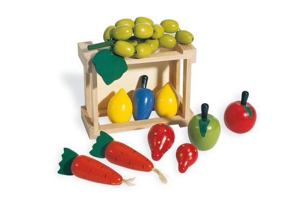 Kiste mit Gemüse