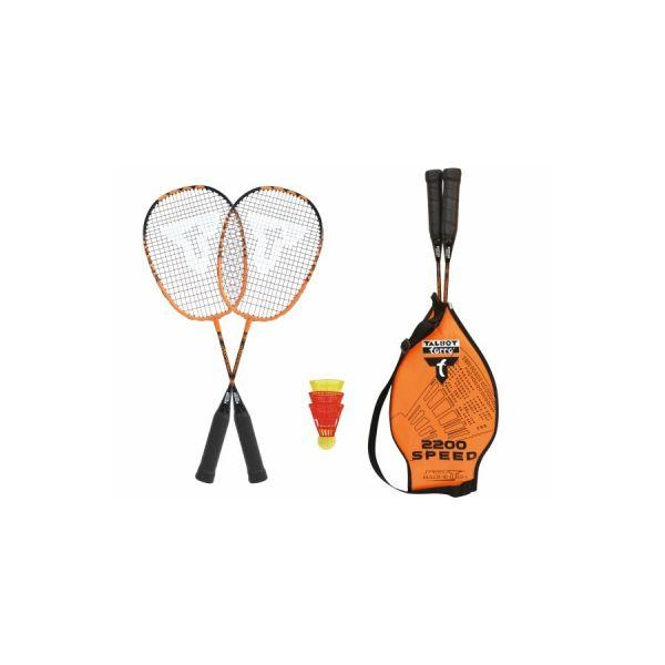 Badminton Set Speed 2200 inkl.3 Bälle