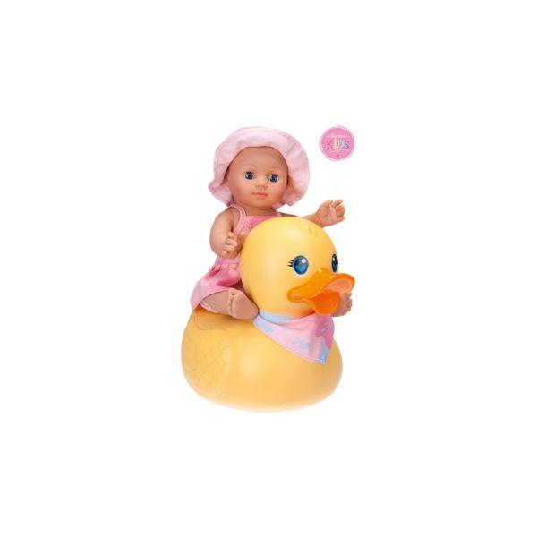 Kids Badepuppe Girl mit Ente Schildkröt
