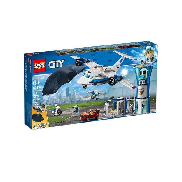LEGO® City Polizei Fliegerstützpunkt