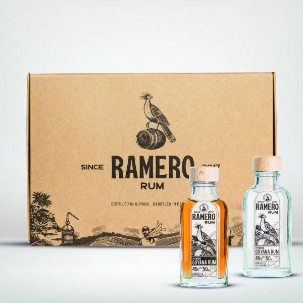 RAMERO Rum 50 ml Tasting Set