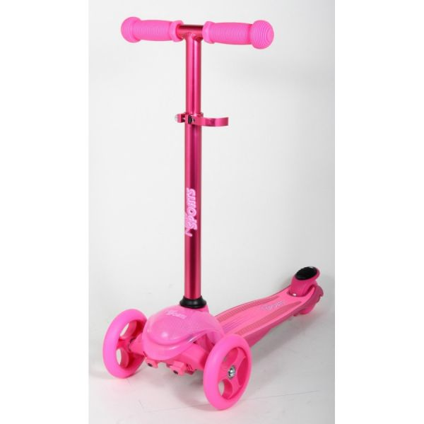 New Sports 3-Wheel Scooter, magenta,121mm, 50kg
