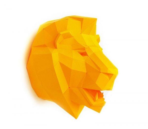 Trophäe Löwe