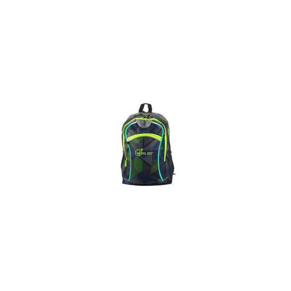 Wheel Bee Backpack Rucksack blue/green
