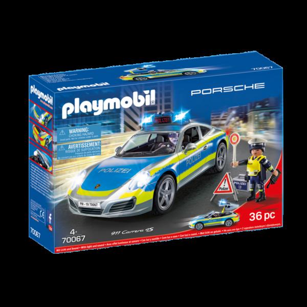 PLAYMOBIL® Porsche 911 Carrera 4S Polizei